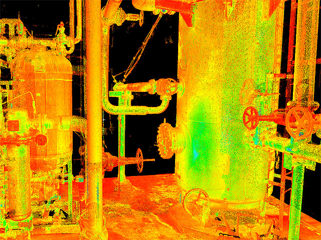 3D Laser Scanning of Plant, Vessels and Piping